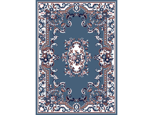 Home Dynamix Area Rugs: Premium Rug: 7083: Country Blue 7' 9
