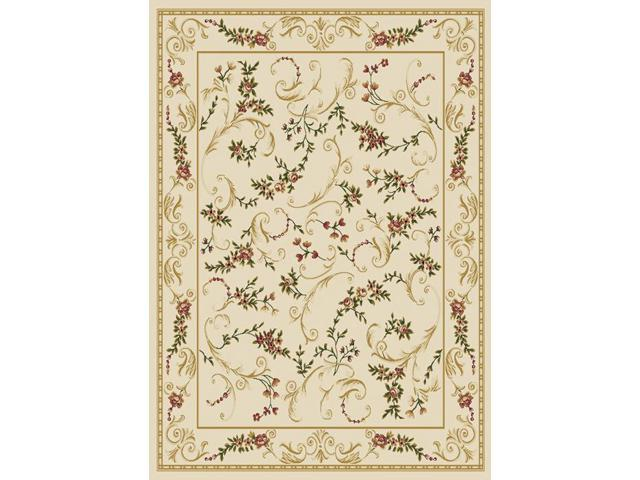 Home Dynamix Area Rugs: Optimum Rug: 11019-100 Ivory: 1'7