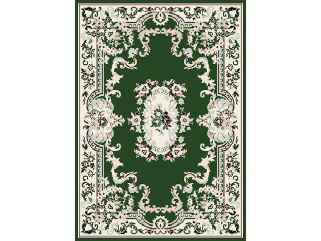 Home Dynamix Area Rugs: Premium Rug: 7083: Hunter Green 5' 3