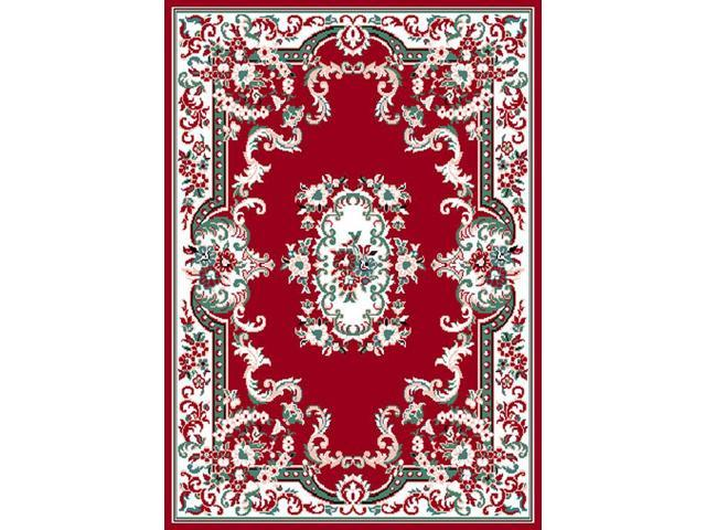 Home Dynamix Area Rugs: Premium Rug: 7083: Claret Red 5' 3