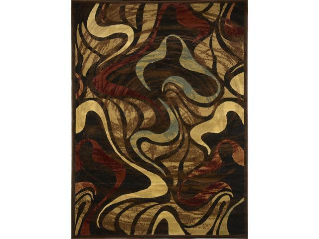 Home Dynamix Area Rugs: Catalina Rug: 4473-450 Black:5'2