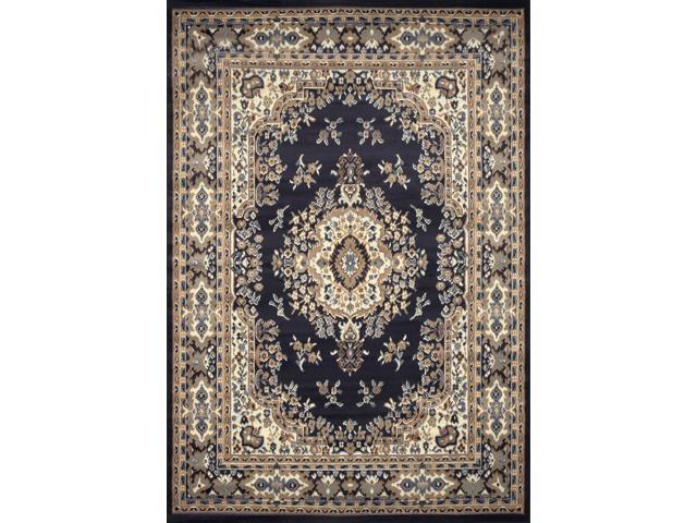 Home Dynamix Area Rugs: Premium Rug: 7069: Navy Blue 7' 9