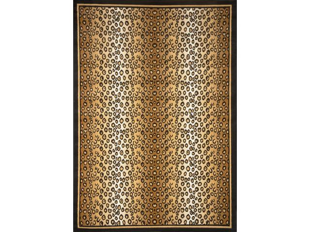 Home Dynamix Area: Zone Rug: 7117: Leopard Rug 5' 3