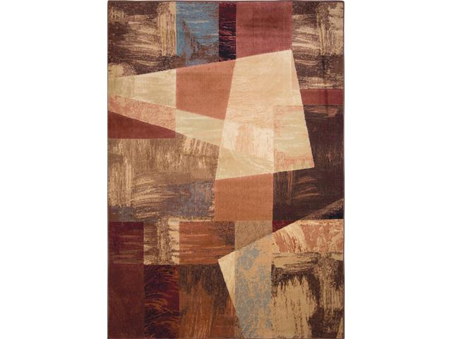 Home Dynamix Area Rugs: Catalina Rug: 1237-999 Multi: 3'7