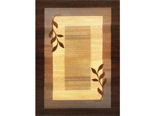 Home Dynamix Area Rugs: Royalty Rug: 602JB-530 Brown 5'2