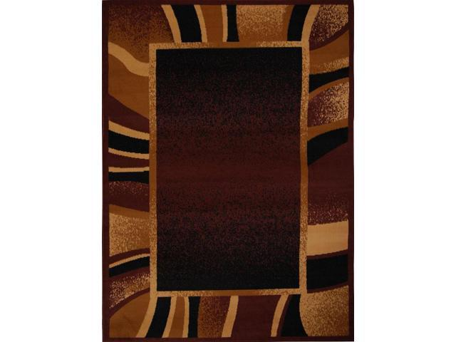 Home Dynamix Area Rugs: Premium Rug: 7542 Brown: 1'9