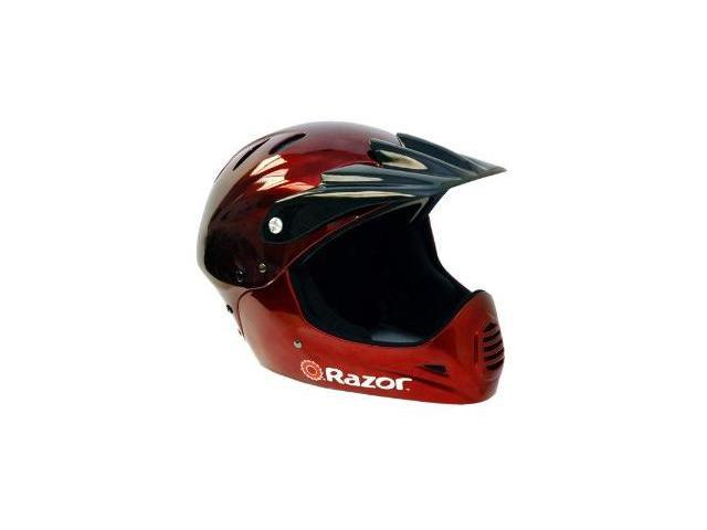 Razor Full Face Youth Helmet (Black Cherry)