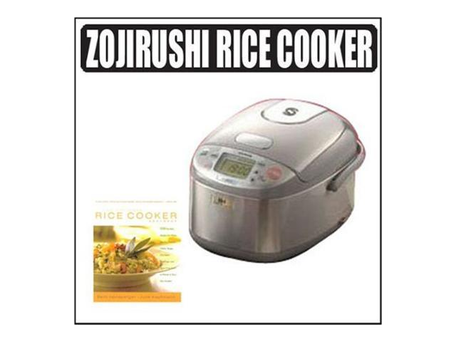 Zojirushi NP-GBC05 3-cup Rice Cooker and Warmer With Cookbook