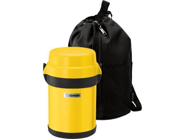 Zojirushi SL-JAE14YF Mr Bento Stainless Lunch Jar, Lemon Yellow