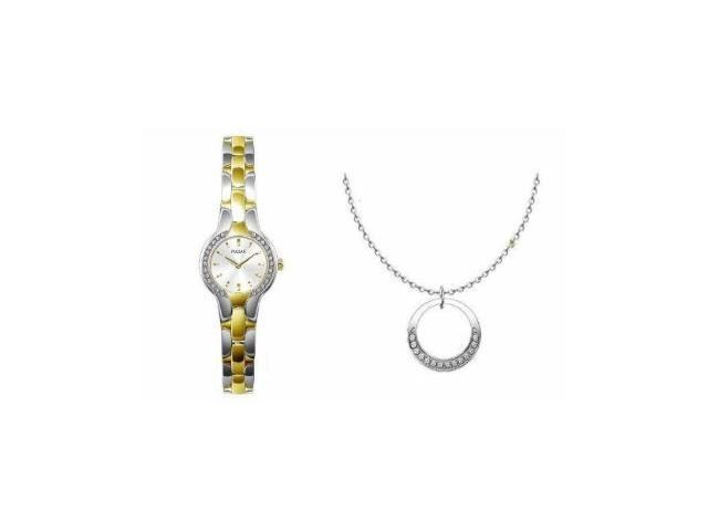 Seiko PTA354X8 Womens Watch and Necklace SE