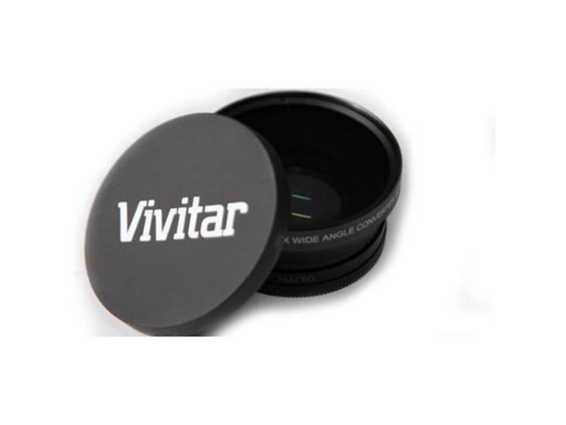 Vivitar 52mm 0.43X Professional Wide Angle Lens With Macro - VIV-52W