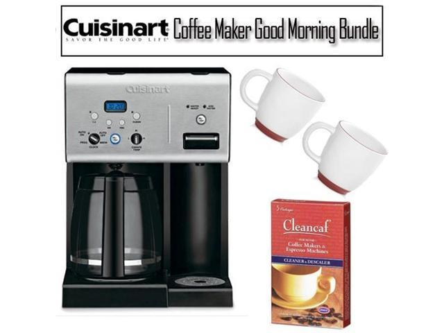 Cuisinart 12-Cup Programmable Coffee Maker Good Morning Kit - Newegg.com
