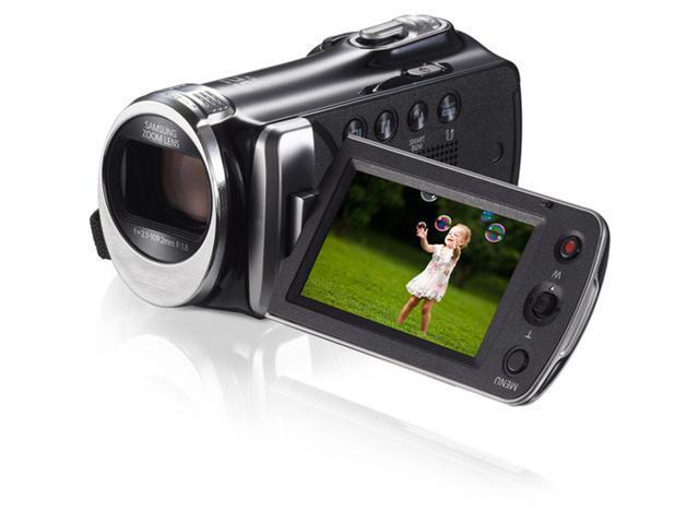 Samsung HMX-F90 HD Camcorder - Black