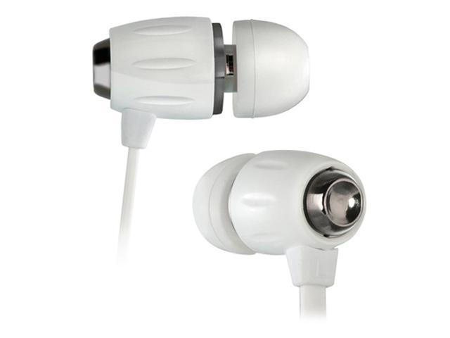 BellO White BDH654WH 3.5mm Connector In-Ear Stereo Headphones with Apple Remote