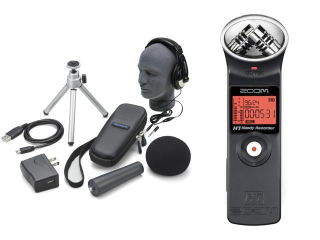 Zoom H1 Handy Portable Digital Recorder + Accessory Kit