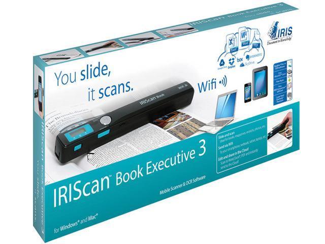 IRIScan 457889 Book 3 Executive Portable Scanner