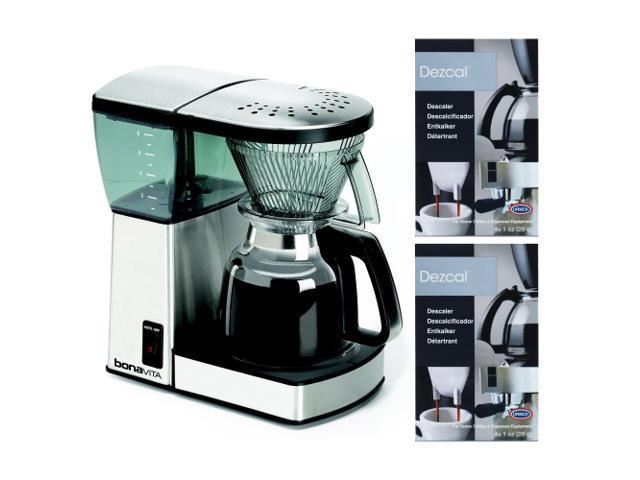 Bonavita Bv1800 8 Cup Coffee Maker With Glass Carafe Review : Bonavita BV1800 8 Cup Coffee Maker With Glass Carafe Bundle-Newegg.com