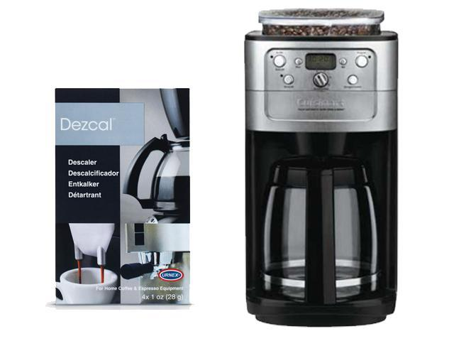 Cuisinart Grind And Brew Coffee Maker Dgb 700bc : Cuisinart DGB-700BC Grind & Brew 12-cup Automatic Coffeemaker W/ Decalcifier - Newegg.com