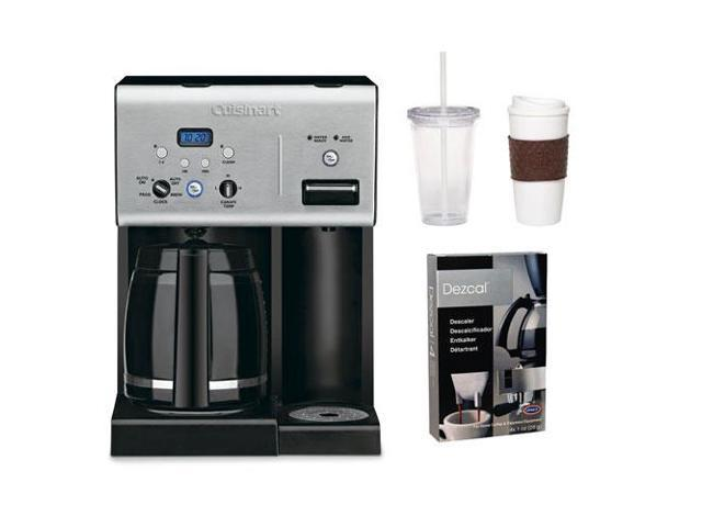 Cuisinart CHW-12 CHW12 12-cup Programmable Coffee Maker w/ 2 Pack Coffee Mug & Iced Beverage Cup ...