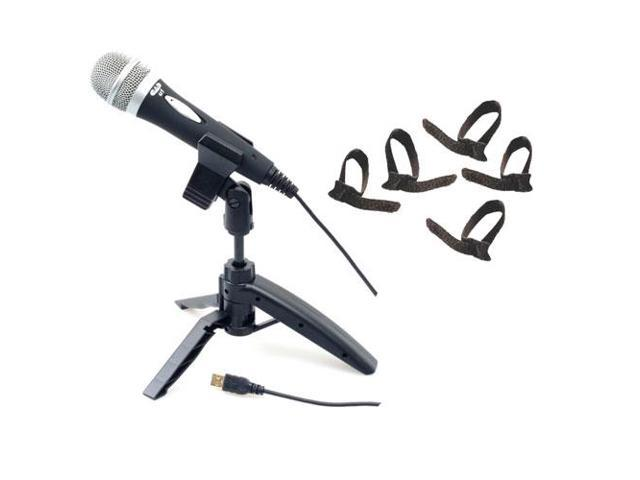 CAD Audio U1 USB Recording Microphone With Tripod Stand & Cable Ties