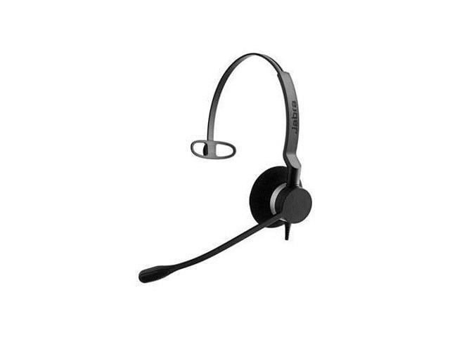 Jabra BIZ 2300 Mono QD Headset w/ Noise Canceling & Breath Resistant Microphone