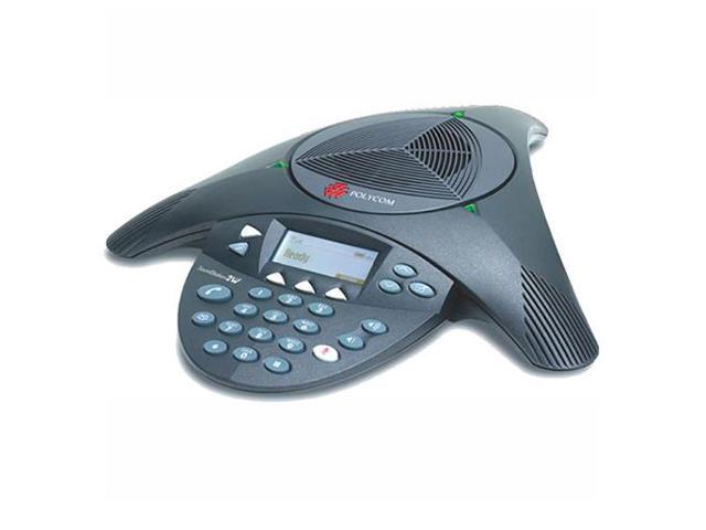 Polycom 2200-07800-001 Wireless Conference Phone Wireless SoundStation 2W EX (Mics Not Included)