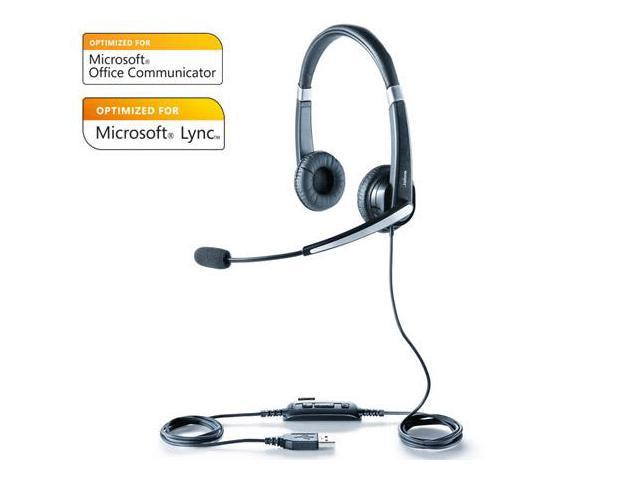 Jabra Voice 550 Duo MS Corded Headset w/ Noise Reduction System