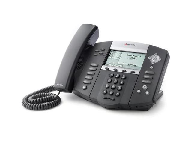 Polycom SoundPoint  IP 560 (2200-12560-025) SoundPoint IP 560 4-Line IP Phone (POE)
