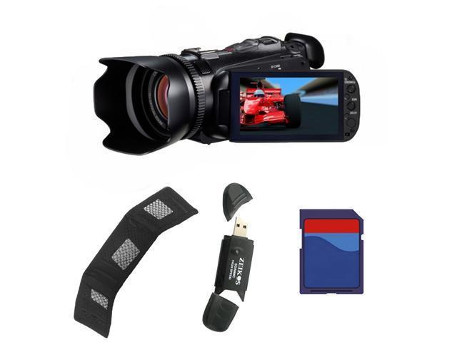 Canon XA10 HD Professional Camcorder Kit. Includes: 8GB Memory Card, Memory Card Reader & Memory Card Wallet