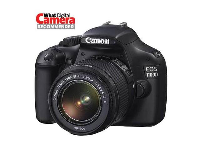 Canon EOS 1100D Digital SLR With 18-55mm IS Lens