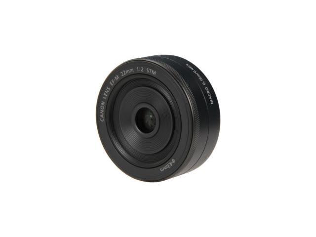 Canon 5985B002 EF-M 22mm f/2 STM Lens (Bulk Packaging)