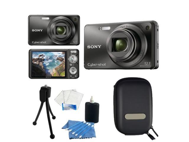 Sony DSC-W290 Black Cyber-Shot Digital Camera Kit