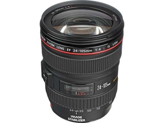 Canon EF 24-105mm f/4L IS USM Standard Zoom Lens - 0344B002 (BULK PACKAGING)