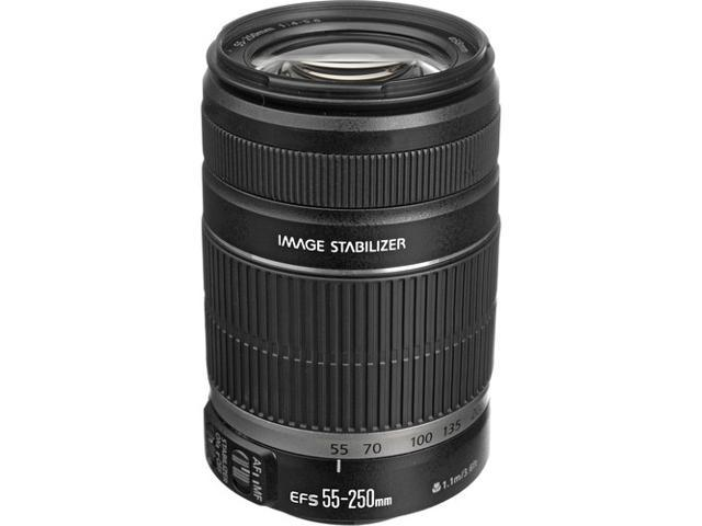 Canon EF-S 55-250mm f/4-5.6 IS Telephoto Zoom Lens (Bulk Packaging)