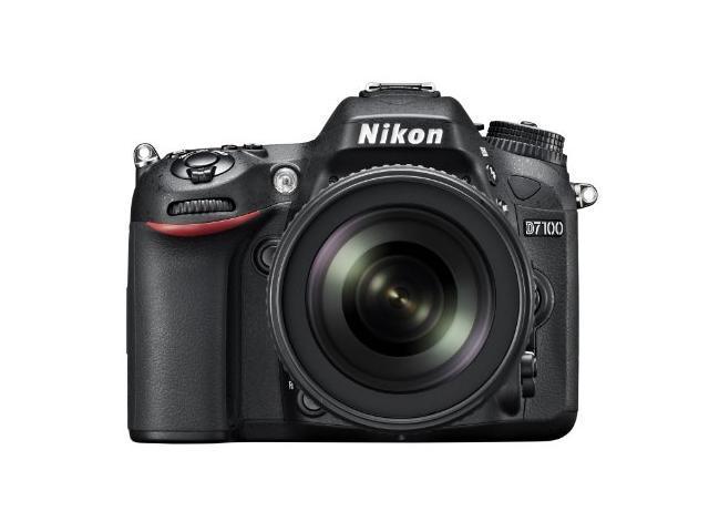Nikon D7100 (1513) Black Digital SLR Camera with 18-55mm VR Lens