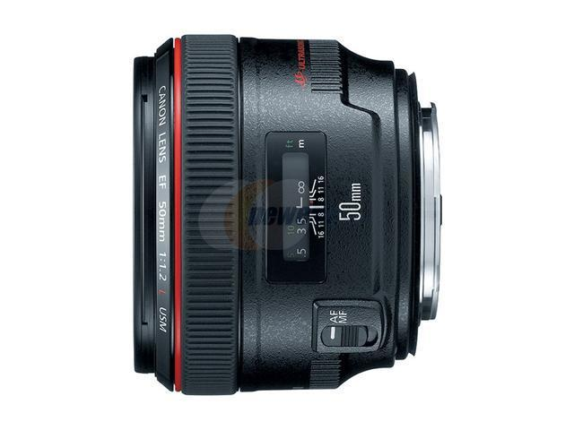 Canon EF 50mm f/1.2L USM Lens (Bulk Packaging)