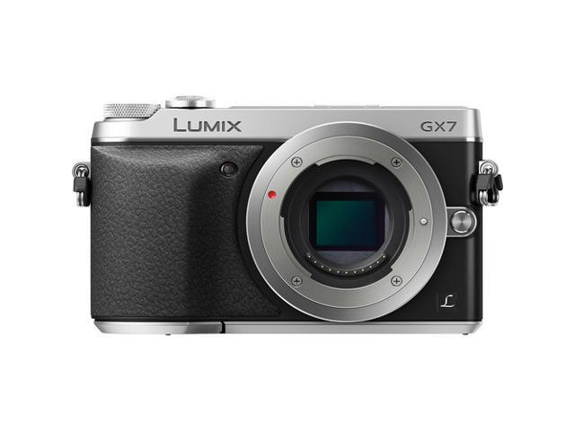 Panasonic DMC-GX7SBODY Silver Digital Single Lens Mirrorless Camera