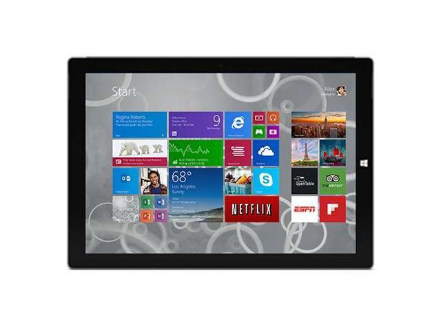 "Microsoft Surface Pro 3 Intel Core i5 4GB Memory 128GB Storage 12"" Tablet Windows 8.1 Pro 64-bit - MQ2-00001"
