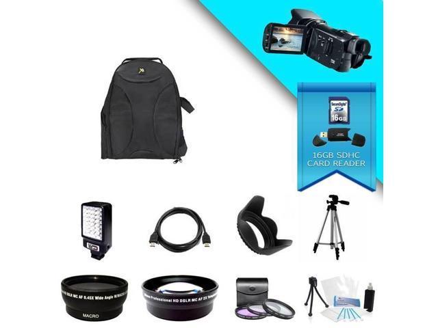Canon VIXIA HF G20 Full HD 32GB Camcorder (Black) Kit 3