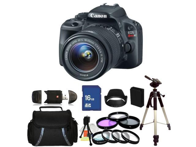 Canon EOS Rebel SL1 DSLR Camera with 18-55mm f/3.5-5.6  EF-S IS STM Lens - Kit 3