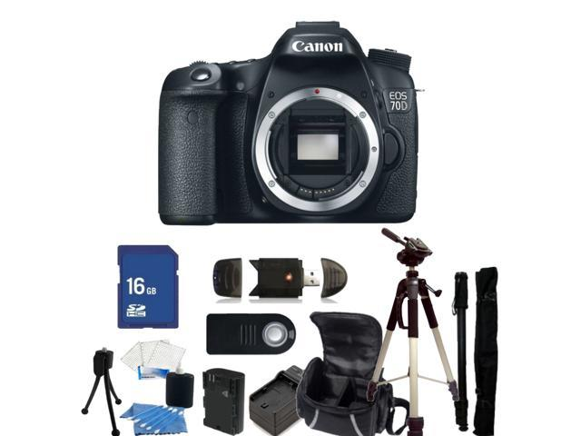 Canon EOS 70D DSLR Camera (Body Only) - Kit 1