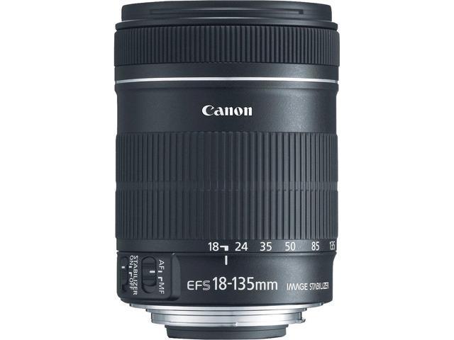 Canon EF-S 18-135mm f/3.5-5.6 IS Lens (Bulk Packaging)