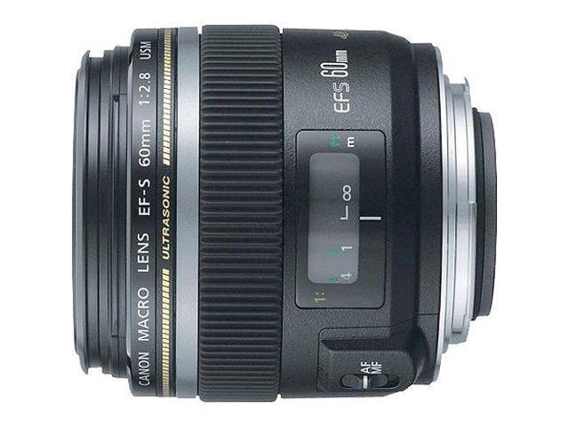 Canon EF-S 60mm f/2.8 Macro USM Lens (Bulk Packaging)