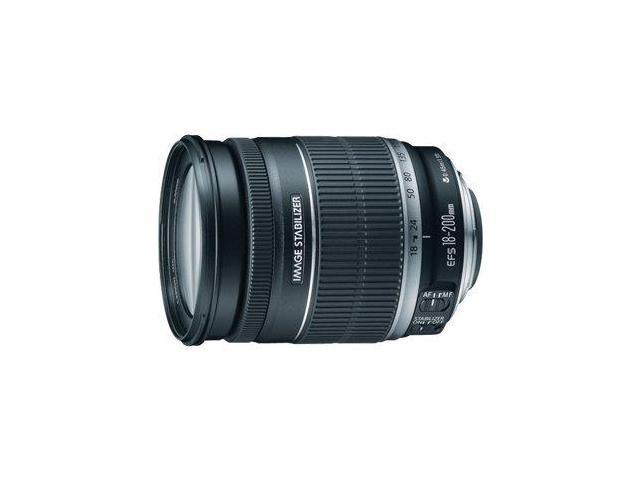 Canon EF-S 18-200mm f/3.5-5.6 IS Standard Zoom Lens (Bulk Packaging)