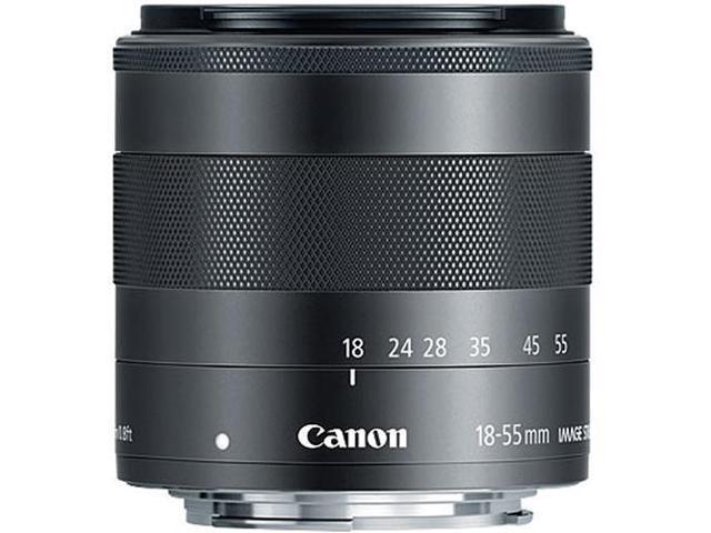 Canon EF-M 18-55mm f3.5-5.6 IS STM Lens (Bulk Packaging)