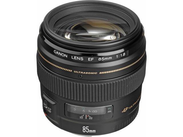 Canon EF 85mm f/1.8 USM Standard & Medium Telephoto Lens (Bulk Packaging)