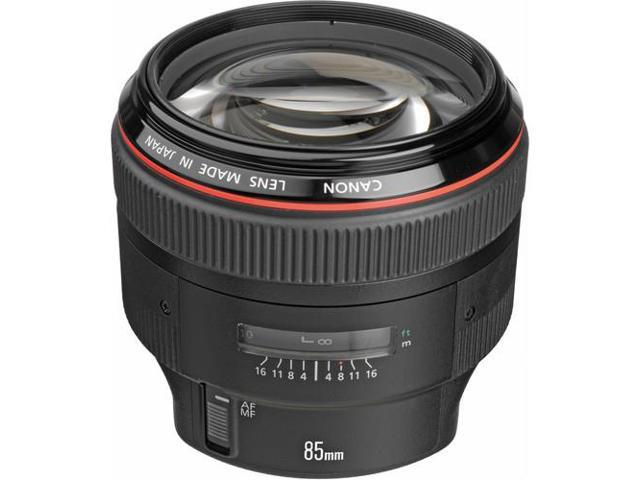 Canon EF 85mm f/1.2L II USM Medium Telephoto Lens (Bulk Packaging)
