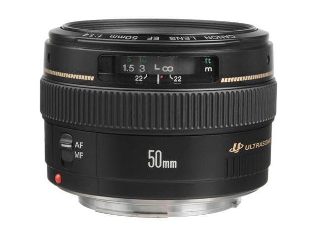 Canon EF 50mm f/1.4 USM Standard & Medium Telephoto Lens (Bulk Packaging)