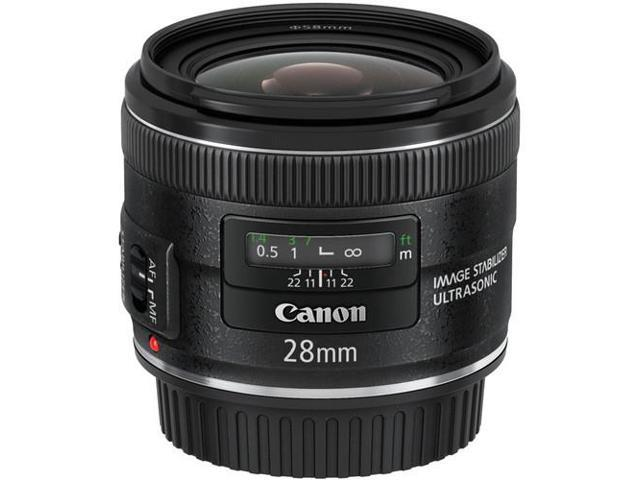 Canon EF 28mm f/2.8 IS USM Wide-Angle Lens (Bulk Packaging)