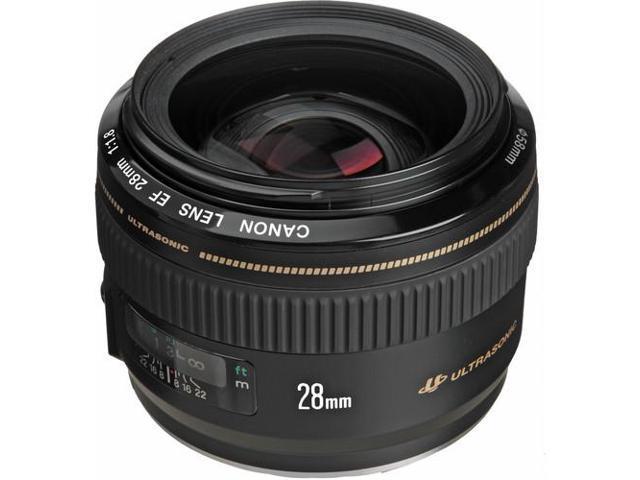 Canon EF 28mm f/1.8 USM Wide Angle Lens (Bulk Packaging)